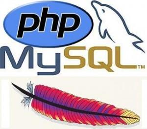 Logo Apache, Mysql y Php