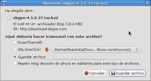 Skype Linux 04